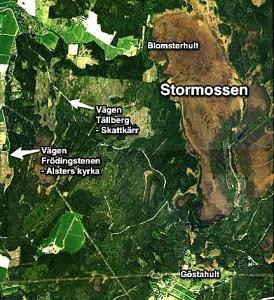 9 november kan vad som helst hända uppe på Stormossen norr om Skattkärr. Häng med. Anmäl dig till Leif Lövström.
