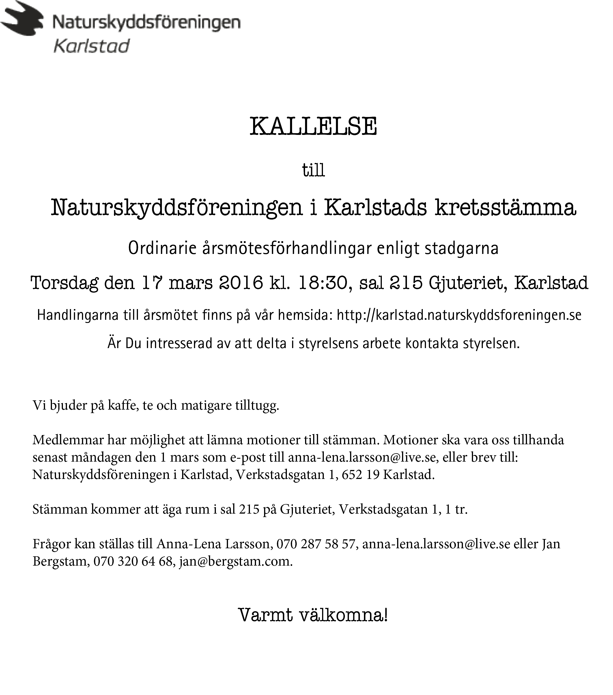 Microsoft Word - Kallelse.doc